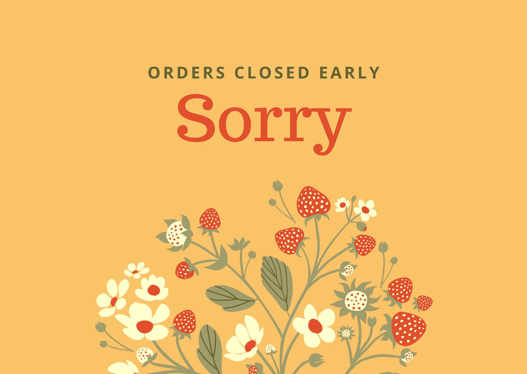 Update on orders 4 February 2021