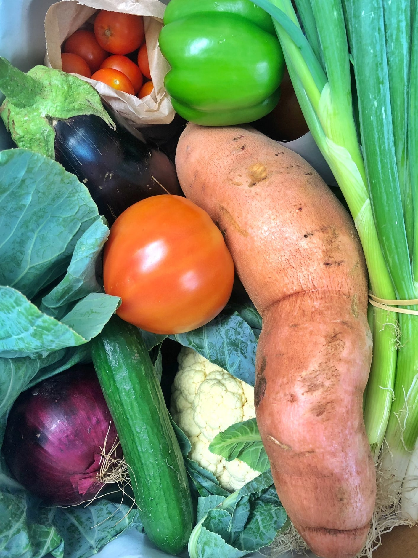 Set price fruit and veg box contents – 4 March 2021